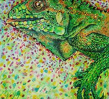 Iggy the Iguana by Amanda Ruck