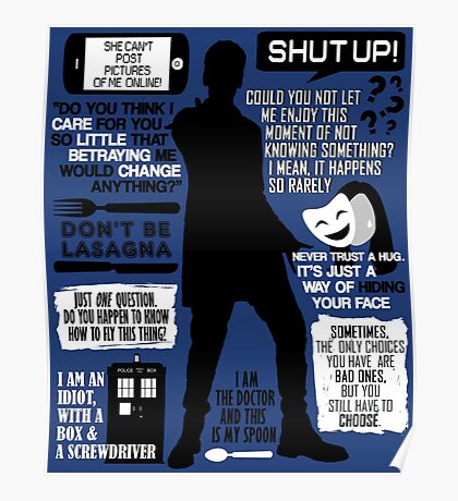 Doctor Who - 12th Doctor Quotes Poster