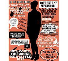 Archer - Cheryl Tunt Quotes Photographic Print