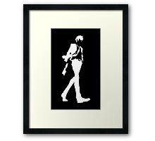Psycho Pass - Shinya Kogami Framed Print