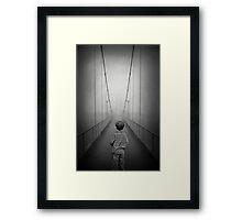 The Crossing.... Framed Print
