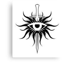 Dragon Age Inquisition Symbol Canvas Print