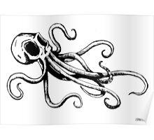 Octo Skull Poster