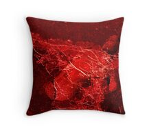 Red death Throw Pillow