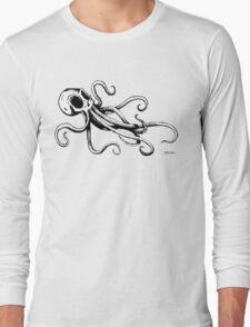 Octo Skull Long Sleeve T-Shirt