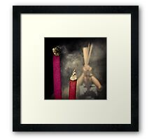 To the Year of the Rabbit #0101 Framed Print