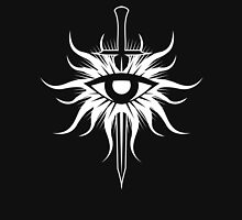 Dragon Age Inquisition Symbol (white) Unisex T-Shirt