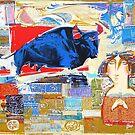 The Holiday of a Bule Bull by Tigran Akopyan