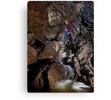 GB Cavern - Mendip Canvas Print