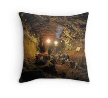 The Hard Rock Cafe - Daren Cilau Throw Pillow