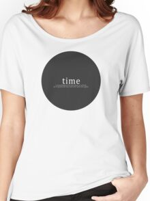 Time is a Flat Circle - True Detective Women's Relaxed Fit T-Shirt