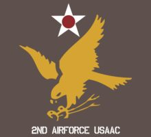 2nd Airforce Emblem Baby Tee