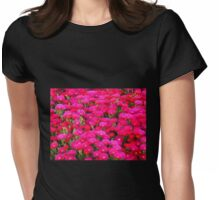 "Hot Pink ""Ice Plant"" (Carpobrotus) Womens Fitted T-Shirt"