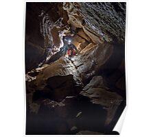 Goatchurch Cavern - Boulder Chamber Poster