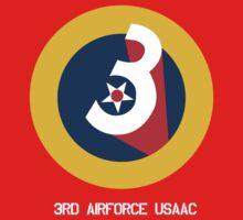 3rd Airforce Emblem One Piece - Long Sleeve