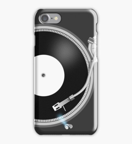 TURNTABLE iPhone Case/Skin