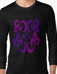 Unique colorful pattern Long Sleeve T-Shirt