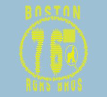 usa boston, ma tshirt by rogers bros Womens Fitted T-Shirt
