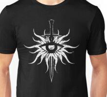 Dragon Age Inquisition Symbol Broken (white) Unisex T-Shirt