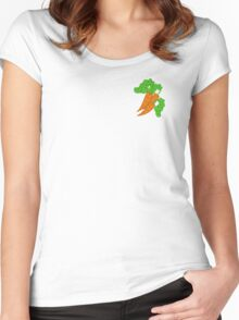 My little Pony - Carrot Top / Golden Harvest Cutie Mark V2 Women's Fitted Scoop T-Shirt