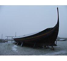 Looming Sea Stallion - Roskilde Photographic Print