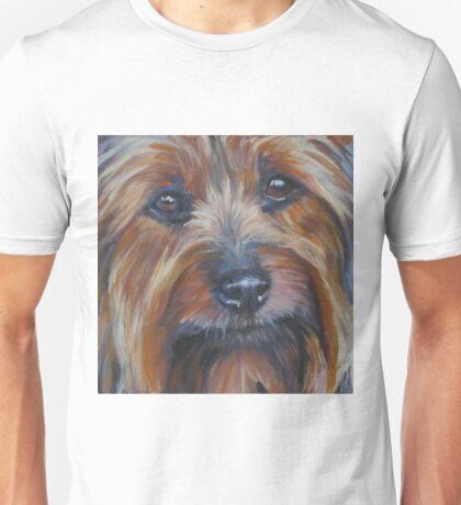 Silky Terrier Fine Art Painting Unisex T-Shirt