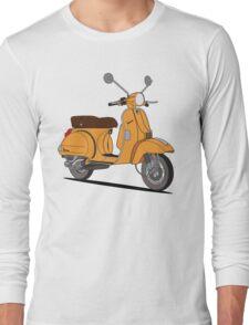 Vespa PX 150 Orange Long Sleeve T-Shirt
