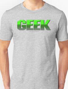 Geek (green) T-Shirt