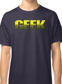 Geek (yellow) Classic T-Shirt