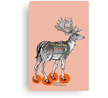 My Deer M&Ms Canvas Print