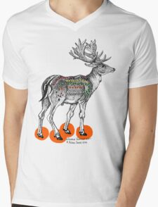 My Deer M&Ms Mens V-Neck T-Shirt