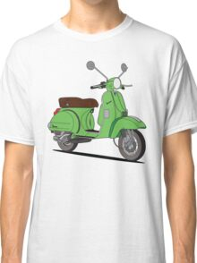 Vespa PX Green Classic T-Shirt