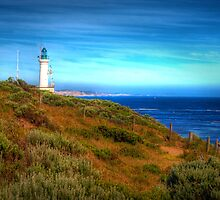 Point Lonsdale Lighthouse - Port Phillip Heads Marine National Park by John Bullen
