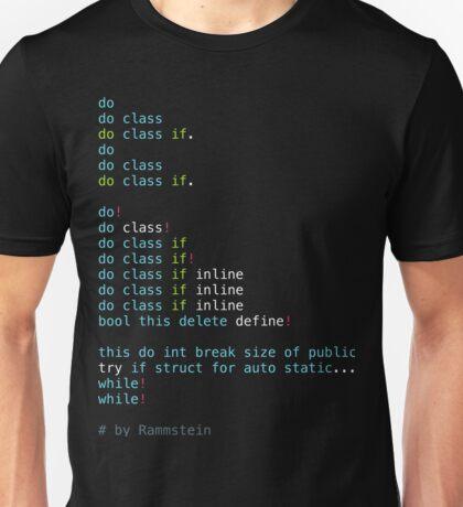Du Hast Unisex T-Shirt