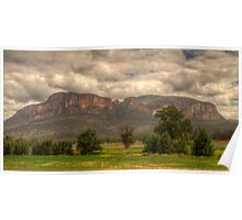 True Blue - Capertee Valley, Australia  - The HDR Experience Poster