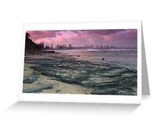 Morning at Alexandra Headlands 1 Greeting Card