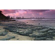 Morning at Alexandra Headlands 1 Photographic Print