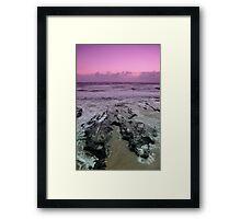 Morning at Alexandra Headlands 3 Framed Print