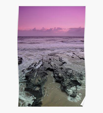 Morning at Alexandra Headlands 3 Poster