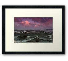 Morning at Alexandra Headlands 4 Framed Print