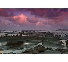 Morning at Alexandra Headlands 4 Photographic Print