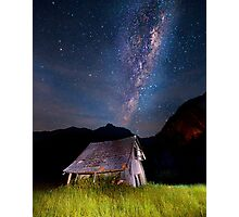 The barn at the end of the universe Photographic Print