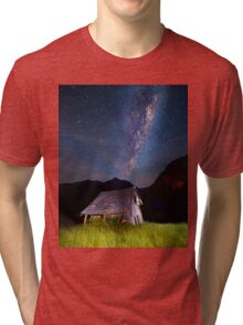 The barn at the end of the universe Tri-blend T-Shirt