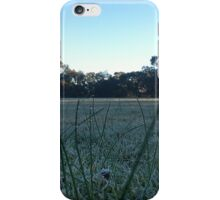 frosty morning dew iPhone Case/Skin