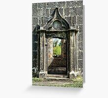 Portal or Door Greeting Card