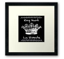 King Park Framed Print