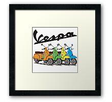 Vespa PX 150 Framed Print