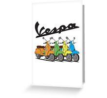 Vespa PX 150 Greeting Card