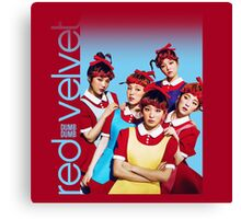 Red Velvet Dumb Dumb Canvas Print