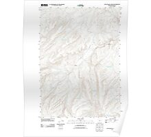USGS Topo Map Oregon Little Black Canyon 20110819 TM Poster